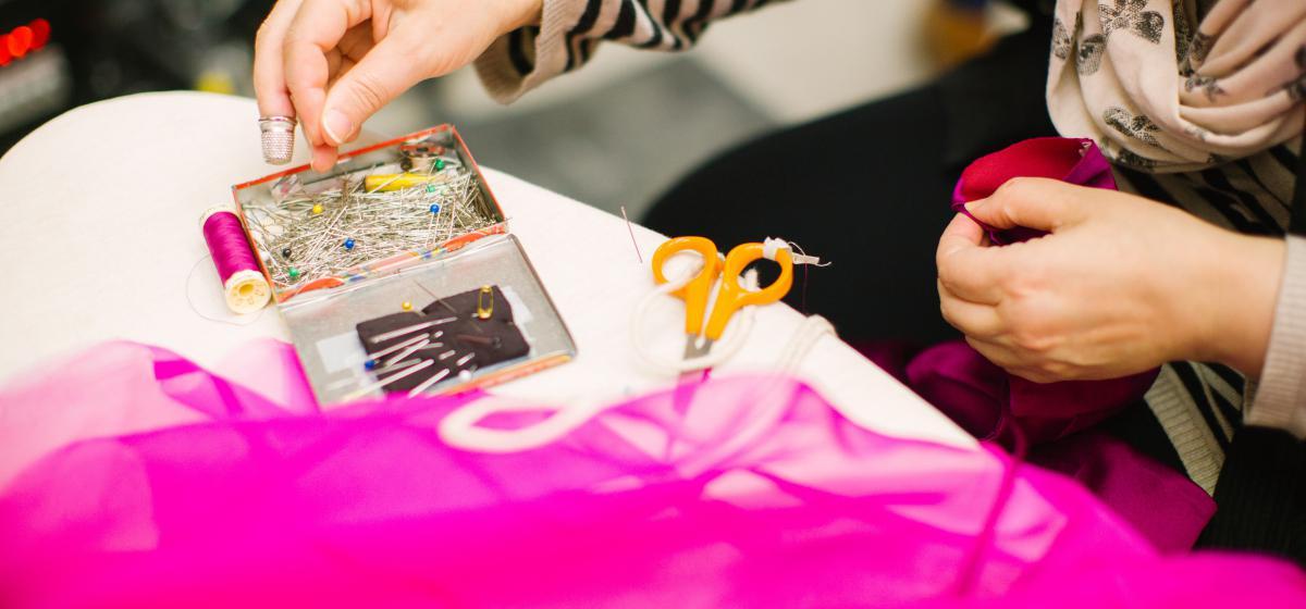 Opleidingsplek kledingreparateur Amsterdam